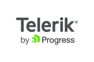 telerik by progress logo